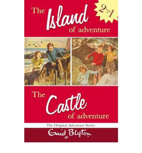 Blyton, Enid / (2 in 1) The Island of Adventure / The Castle of Adventure