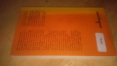 Montague, John Death of a Chieftain Poolbeg Press Vintage PB 1978 Short Stories