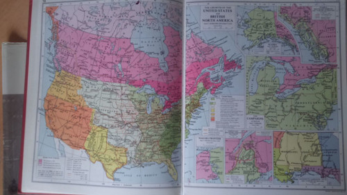Muir's Historical Atlas Medieval & Modern 10th Edition Hardcover 1964 Illustrated Maps History