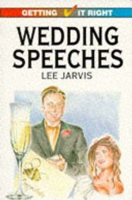 Jarvis, Lee / Wedding Speeches
