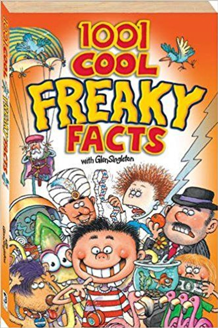 1001 Cool Freaky Facts (Large Paperback)