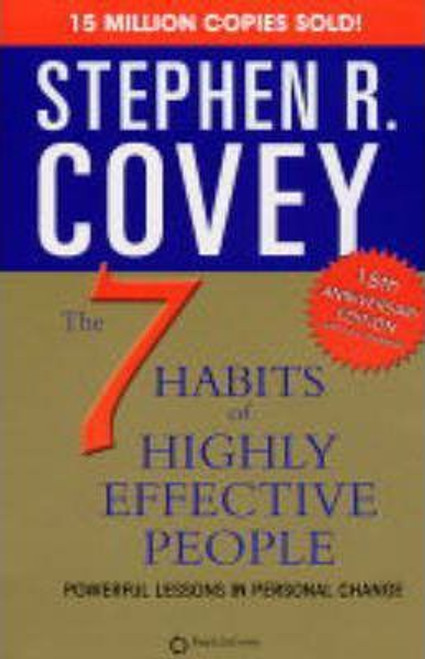 Covey, Stephen R / 7 Habits Of Highly Effective People (Large Paperback)