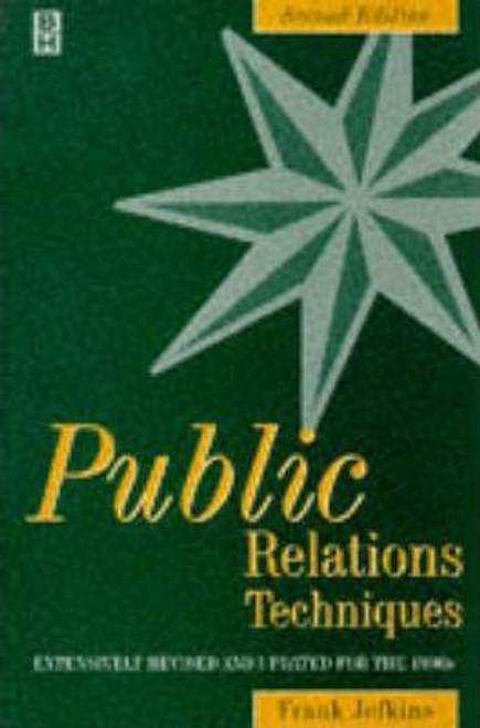 Jefkins, Frank /  Public Relations Techniques (Large Paperback)