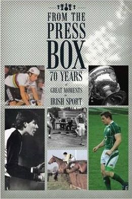 Byrne, Peter / From the Press Box (Large Paperback)