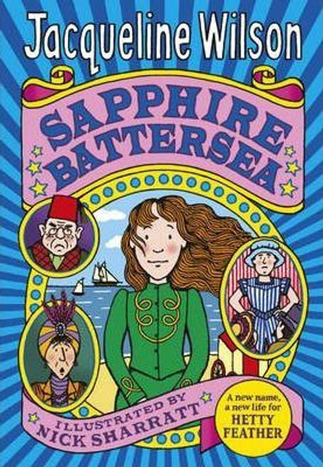 Wilson, Jacqueline / Sapphire Battersea (Large Paperback)