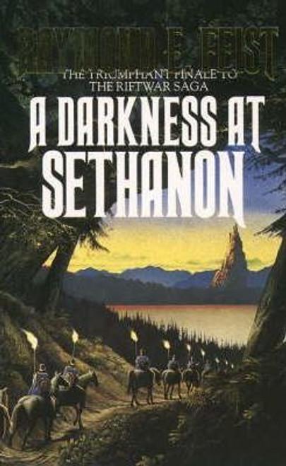 Feist, Raymond E. / A Darkness at Sethanon ( Riftwar Saga Book 3)