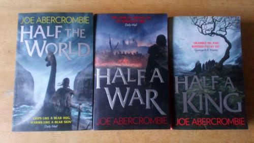 Abercrombie, Joe -  PB Shattered Sea Trilogy  3 Book Set - Half a War, Half a King, Half a World