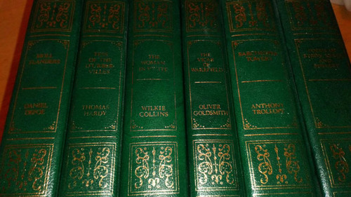 6 volume set - Guild Publishing  English Literature Classics Leather Effect Gilt  HB