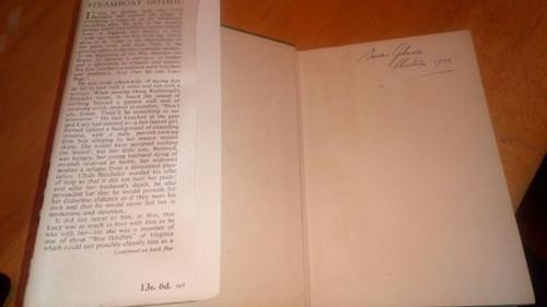 Keyes, Frances Parkinson  Steamboat Gothic UK Hb 1st Ed in jacket Romance