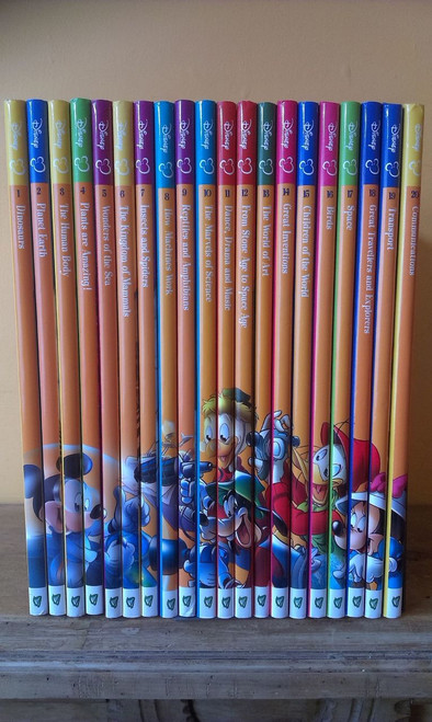 Disney: The Wonderful World of Knowledge (Complete 20 Book Set)