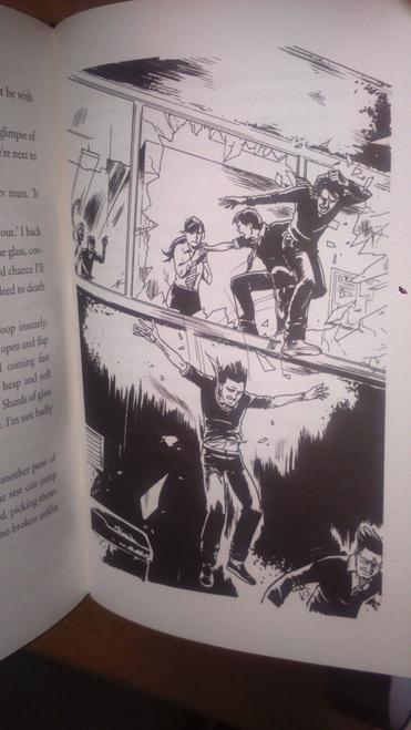 Shan Darren  Zom-B Hardcover SIGNED First Edition 2012 Horror Zombie Apocalypse ( Zom- B Series, Book 1)