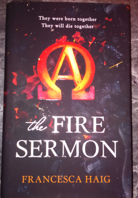 Haig, Francesca The Fire Sermon Hardcover Dystopian Science Fiction First Edition 2015 New