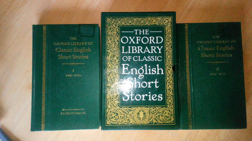 Oxford Library of Classic English Short Stories  2 Vol HB Set slipcased 20th Century
