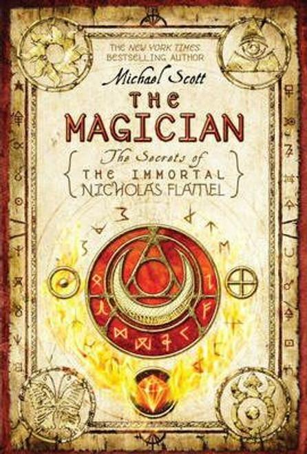 Scott, Michael / The Magician : The Secrets of the Immortal Nicholas Flamel (Large Paperback)