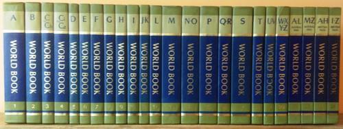 The World Book Encyclopedia (Complete 24 Book Encyclopedia Set) C1979