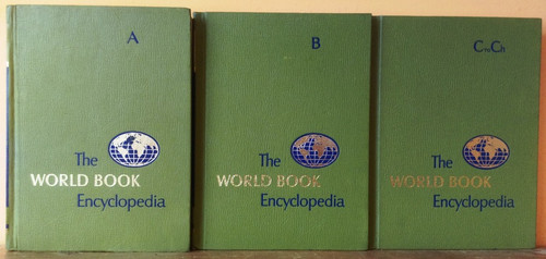 The World Book Encyclopedia (Complete 24 Book Encyclopedia Set) C1979