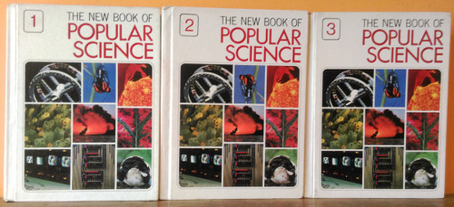 The New Book of Popular Science (Grolier) (Complete 6 Book Set) 1978
