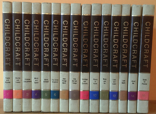 Childcraft The How and Why Library 1974 (Complete 15 Book Encyclopaedia Set)