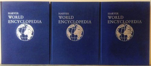 Harver World Encyclopedia 1973 (Complete 21 Book Encyclopedia Set)