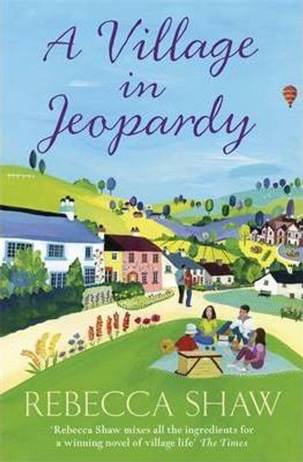 Shaw, Rebecca / A Village in Jeopardy (Large Paperback)
