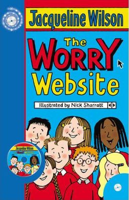 Wilson, Jacqueline / The Worry Website (Large Paperback)