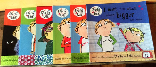 Charlie and Lola (6 Book Collection)