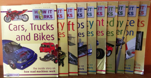 How it Works: Miles Kelly (10 Book Collection)