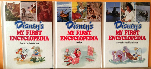 Disney My First Encyclopedia (16 Book Incomplete Collection)