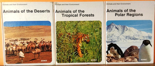 Animals and their Environment (6 Book Collection)