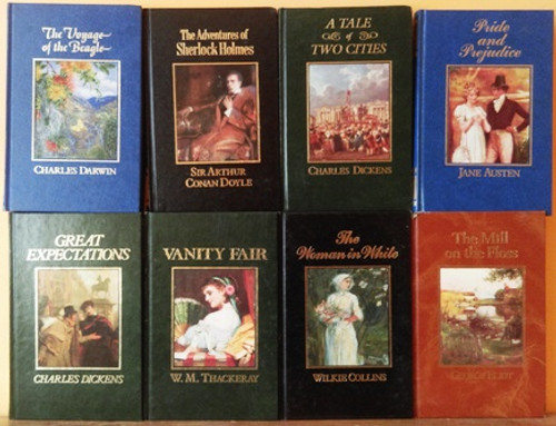The Great Writers Library  (8 Book Collection)