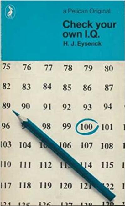 Eysenck, H.J. / Check Your Own I.Q.