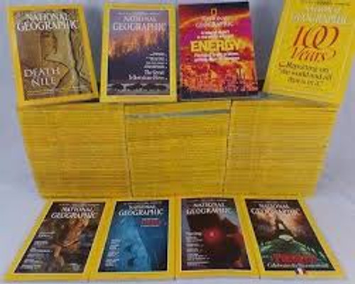 1981 National Geographic (Complete 12 Months) Including February Special