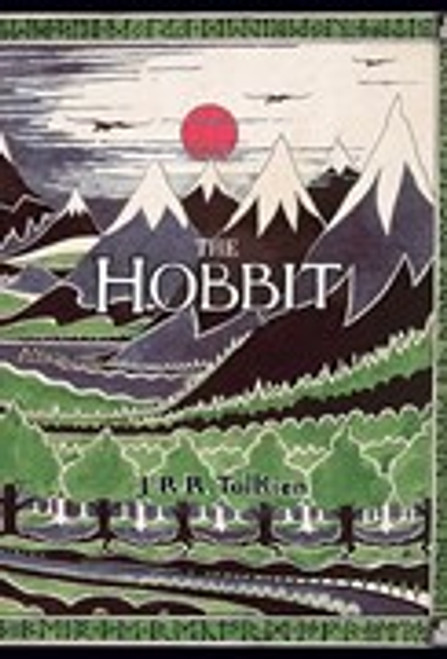 Tolkiens own illustrated artwork for the front cover
