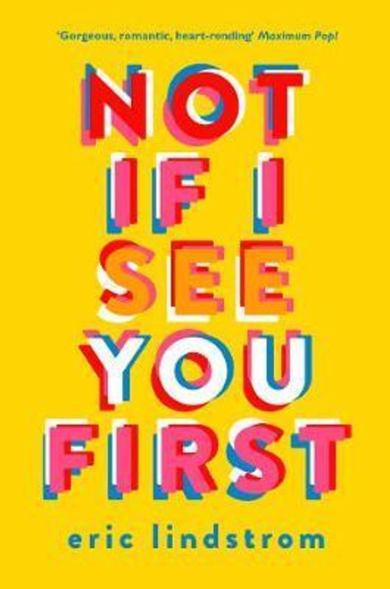 Lindstrom, Eric / Not If I See You First