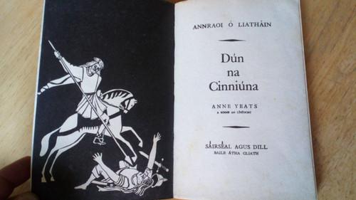 Ó Liatháin , Annraoi - Dún na Cinniúna PB Gaeilge 1966