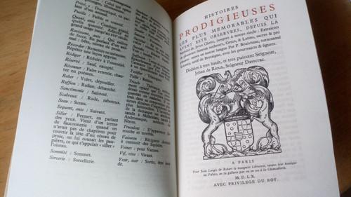 Boaistuau - Histoires Prodigieuses - HB 1961 Club Francais du Livre Limited Numbered Ed