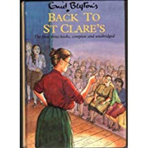 Blyton, Enid / Back to St. Clare's (Hardback)