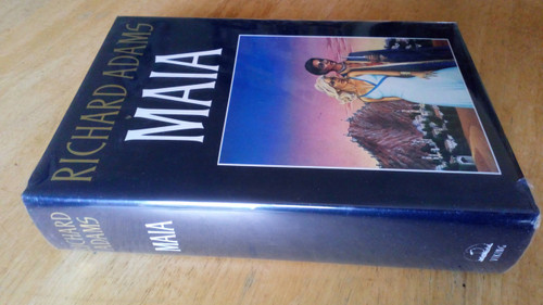Adams, Richard - Maia - Hardcover 1st Edition, 1984 Fantasy - WITH SIGNED LETTER