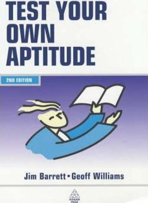 Barrett, James / Test Your Own Aptitude (Medium Paperback)
