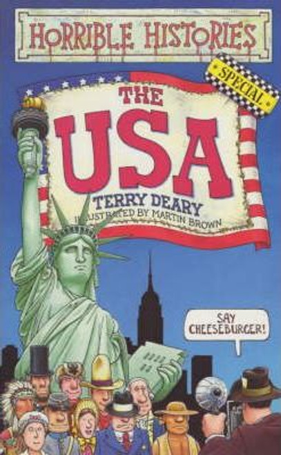 Deary, Terry / Horrible Histories : The USA (Medium Paperback)
