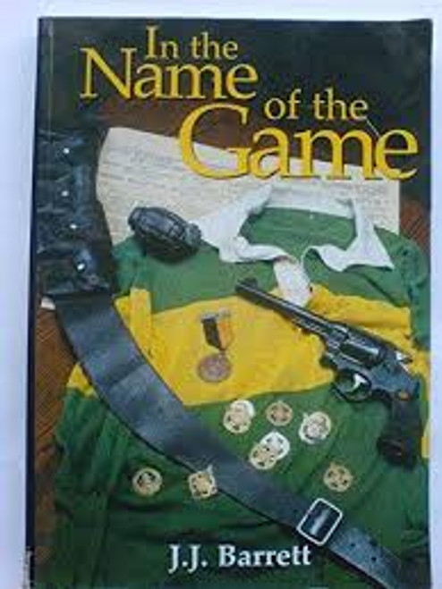Barrett, J. J. / In the Name of the Game (Medium Paperback)