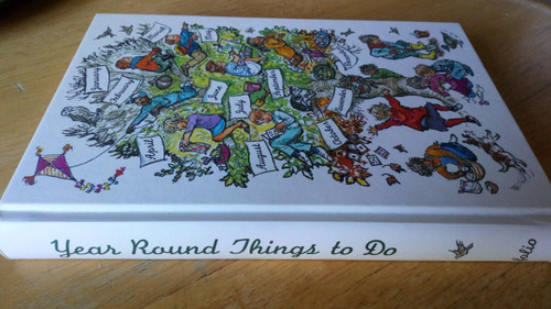 Year Round Things to Do - Folio Society HB Shirley Hughes Illustrations - Children's Activities