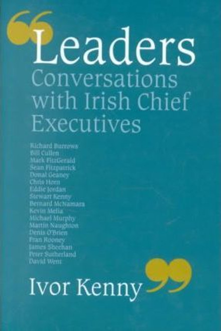 Kenny, Ivor / Conversations with Irish Chief Executives (Large Hardback)