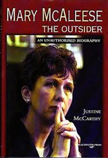 McCarthy, Justine / Mary McAleese - The Outsider (Large Hardback)