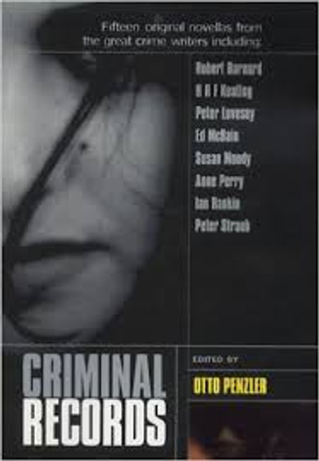 Penzler, Otto / Criminal Records (Large Hardback)