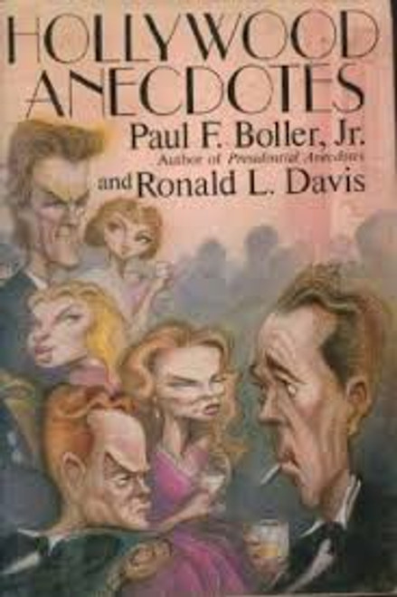 Davis, Ronald / Hollywood Anecdotes (Large Hardback)