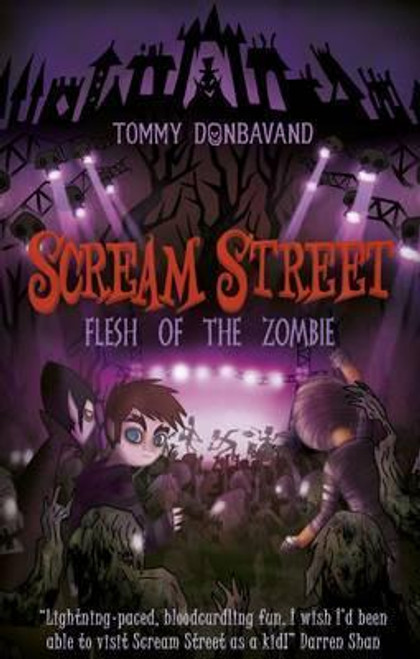 Donbavand, Tommy / Scream Street 4: Flesh of the Zombie