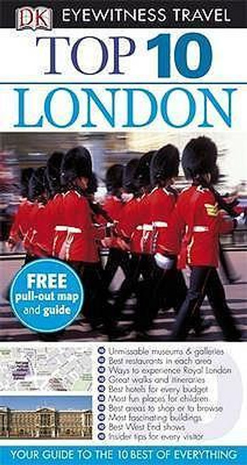 DK Eyewitness Top 10 Travel Guide: London