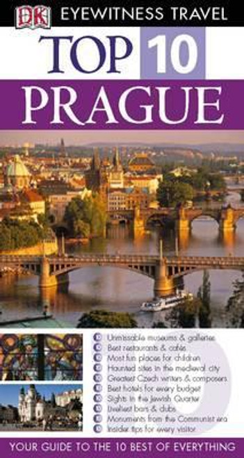 DK Eyewitness Top 10 Travel Guide: Prague