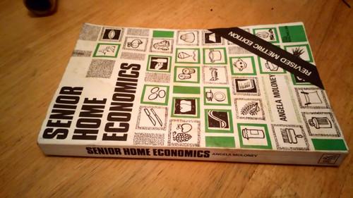 Moloney , Angela - Senior Home Economics 1978 Vintage Irish School Cookbook Text
